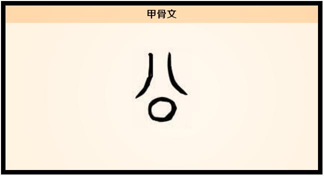 3文字演变公甲骨文.png