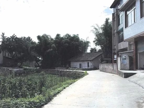 印坝村平坦的公路也有何学刚的贡献,来源:内江日报
