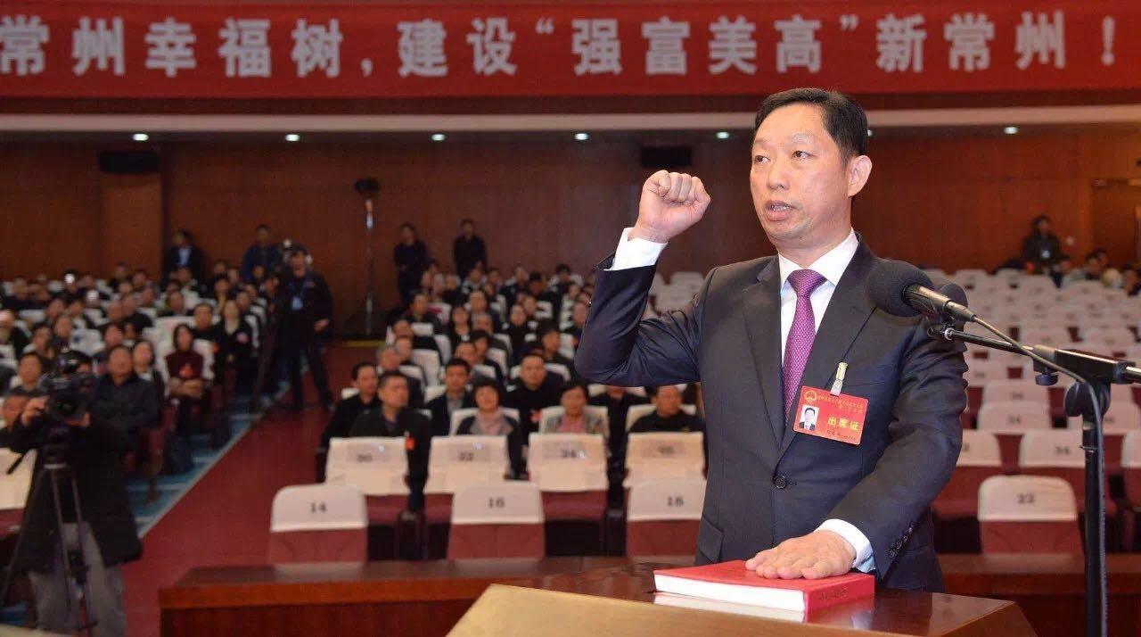 常州市委常委、纪委书记、市监委主任张春福
