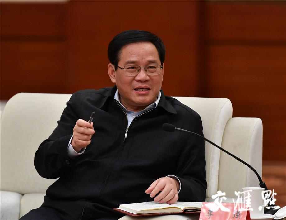 中共中央政治局委员、上海市委书记李强。交汇点记者 肖勇摄