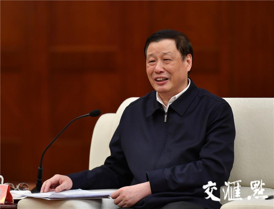 上海市委副书记、市长应勇。交汇点记者 肖勇摄