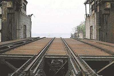 南京下关火车渡口