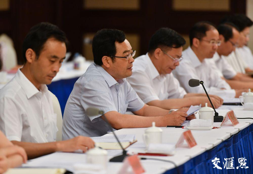 7月17日,苏北部分县委书记座谈会在宿迁召开。