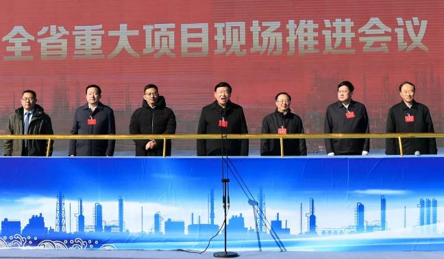 黄海之滨,五分11选5省委省政府举行了一次重要的现场推进会