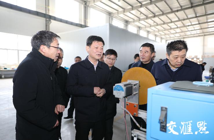 12月28日,姜堰区委书记李文飙走访江苏扬动电气有限公司,详细了解企业运行情况,要求相关部门把提升服务企业能力作为当前工作重点。