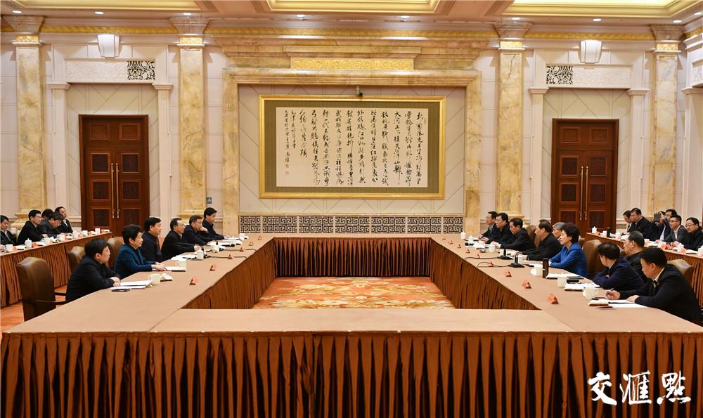 促进优势互补实现合作共赢 宁夏党政代表团来五分11选5考察