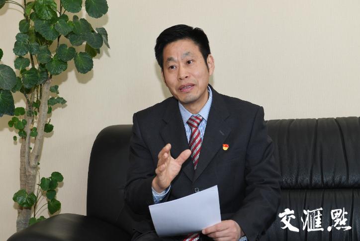 南京醫科大學黨委書記王長青 攝影 余萍