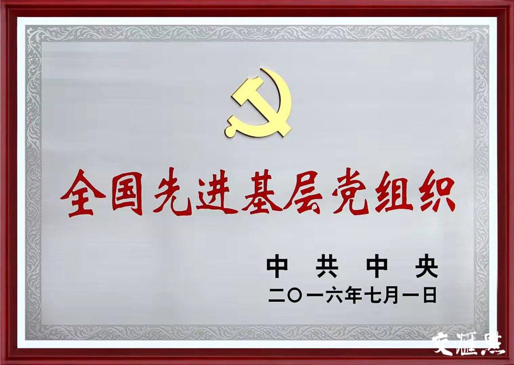 """江苏薛济民律师事务所党支部被中共中央授予""""全国先进基层党组织""""称号"""