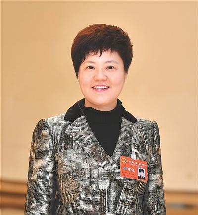 淮安代表团团长蔡丽新