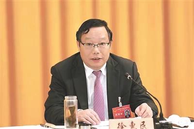 南通代表团团长徐惠民