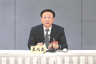 扬州代表团团长夏心旻