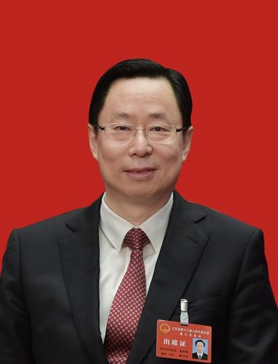 苏州代表团团长蓝绍敏