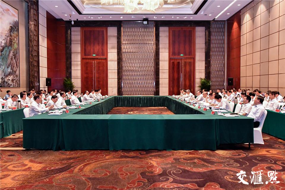 19日,苏陕扶贫协作工作座谈会在常州举行。