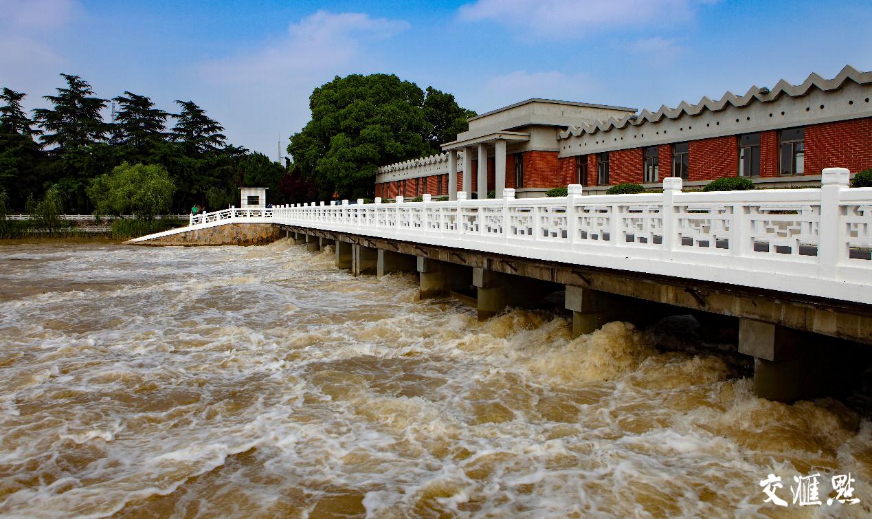 江都水利枢纽。